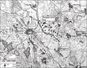 Map 25 French Initial Dispositions, Eylau Dawn, February 8, 1807