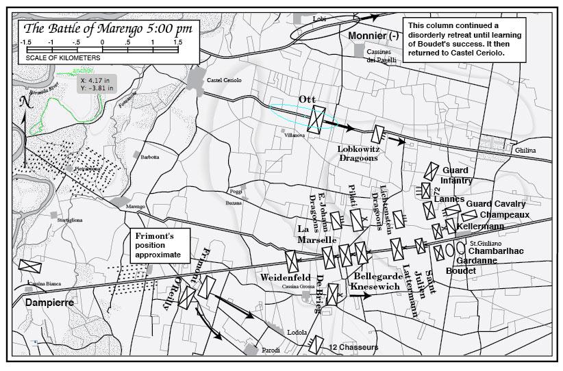 Marengo & Hohenlinden: Napoleon's Rise to Power  battlefield map